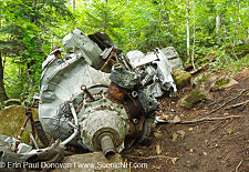 B-18 Bomber Crash on Mont Waternomee, Woodstock