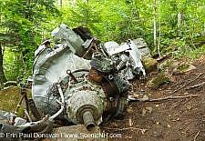 B-18 Bomber Crash, Mt Waternomee