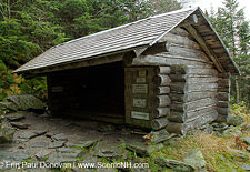 The Perch Shelter - White Mountains, NH USA