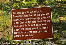 Sculptured Rocks Natural Area - Groton, New Hampshire
