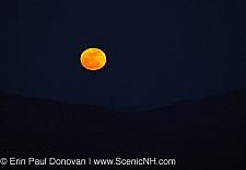 Super Worm Moon - White Mountains New Hampshire USA
