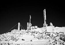 Mount Washington - White Mountains, NH - Winter Stock Photo