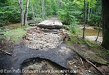 Tropical Storm Irene - Flash Flood in Lincoln, New Hampshire