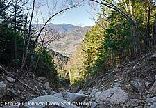 Landslide Hancock Mountain Range - White Mountains, NH