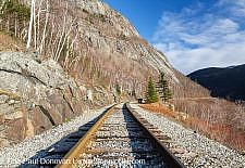 Maine Central Railroad - Mt. Willard Section House, White Mountains New Hampshire
