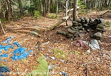 Abandoned Campsite - Kinsman Notch, New Hampshire USA
