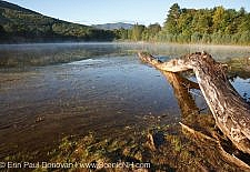 Thorne Pond Conservation Area in Bartlett, New Hampshire USA