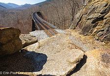 Frankenstein Trestle - Maine Central Railroad, White Mountains, NH USA