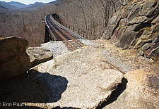 Frankenstein Trestle - Maine Central Railroad, White Mountains, NH USA