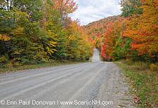 Granby, Vermont - Northeast Kingdom Autumn Foliage Stock Photo