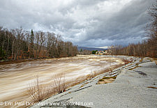 East Branch of the Pemigewasset River in Lincoln, New Hampshire USA
