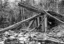 19th Century Timber Bridge - Boston and Maine Railroad, New Hampshire