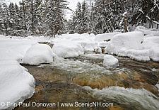 Winter - White Mountains, New Hampshire USA Stock Photo