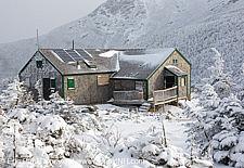 Greenleaf Hut - White Mountains, New Hampshire USA