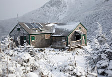 Greenleaf Hut - White Mountains, New Hampshire USA