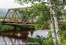 Boston and Maine Railroad Trestle - Fabyans, New Hampshire