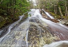 Kinsman Notch - Tributary of Lost River in Woodstock, New Hampshire USA during the spring months