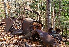 Abandoned Cars, White Mountains