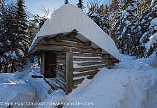 Beaver Brook Shelter along the Appalachian Trail (Beaver Brook Trail), on the north side of Mount Moosilauke, in Kinsman Notch of the White Mountains, New Hampshire