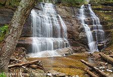 Bridesmaid Falls (Noble Falls) - Franconia, New Hampshire USA
