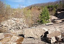 Redstone Granite Quarry - Conway, New Hampshire USA