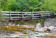 Tropical Storm Irene - New Hampshire,Thoreau Falls Trail