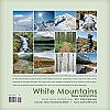 Back cover - 2017 White Mountains New Hampshire Wall Calendar