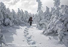 Carter Dome - White Mountains, New Hampshire Stock Photo