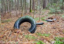 Abandoned Tires - Easton, New Hampshire USA