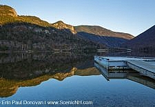Echo Lake - Franconia Notch State Park, New Hampshire USA