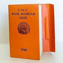 1940 AMC White Mountain Guide