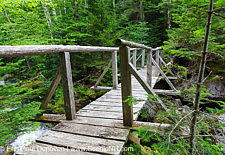 Miriam Sanders Bridge - Low and Burbank's Grant, New Hampshire