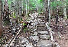 Stone Steps - Mt Tecumseh Trail, New Hampshire