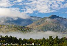 Mountain Range - Twin Mountain, New Hampshire