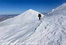Blowing Snow - Mount Madison, White Mountains
