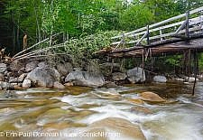 Tropical Storm Irene - New Hampshire, Thoreau Falls Trail