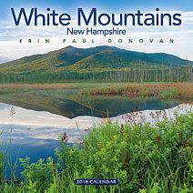 2018 White Mountains, New Hampshire wall calendar