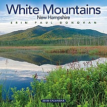 2018 White Mountains, New Hampshire wall calendar