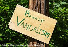 Beware of Vandalism - New Hampshire