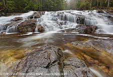 Cascade Brook Falls - Lincoln, New Hampshire