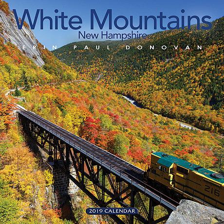 2019 White Mountains New Hampshire wall calendar