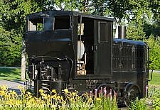 Plymouth Diesel Locomotive - Lincoln, New Hampshire