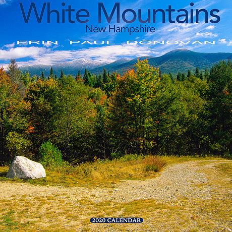 2020 White Mountains New Hampshire wall calendar