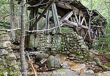 Trestle Abutment - East Branch and Lincoln Railroad