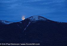 Moonrise - Presidential Range, New Hampshire