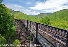Frankenstein Trestle - Maine Central Railroad, Crawford Notch